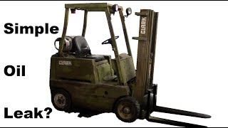 Forklift Repairs: Leaking front main seal and other adventures