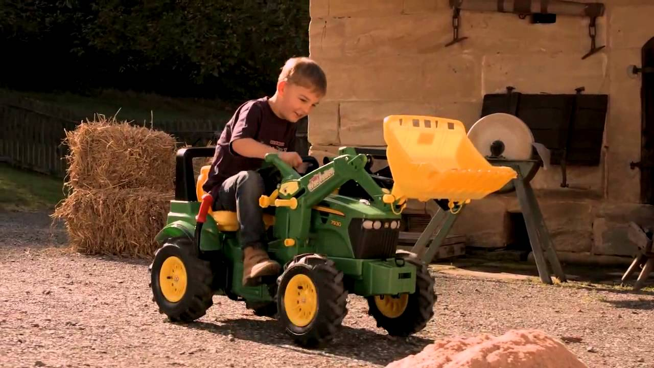 rolly toys john deere tractor instructions