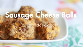 Sausage Cheese Balls | Good Cook