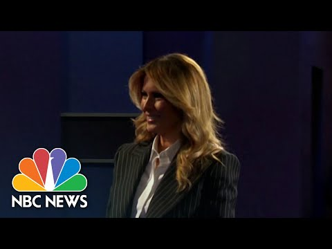 Melania Trump Condemns Capitol Riots, 'Salacious Gossip' About Her In Statement   NBC News NOW