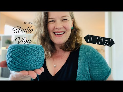 Studio Vlog   New Knitted Cardigan Progress from YouTube · Duration:  41 minutes 37 seconds