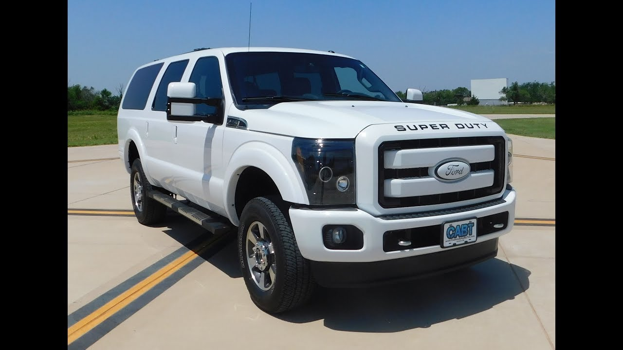 Ultra White X By Cabt 2016 Ford Excursion