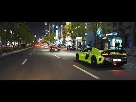 McLaren | Night attack, Seoul.