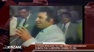 Ο Σ. Καπλάνογλου θυμάται την 1η Εμπορική έκθεση το 1984