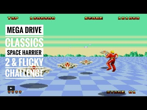 Sega Mega Drive & Genesis Classics | Space Harrier 2 & Flicky | Dodge This & Tricky Flicky Challenge thumbnail