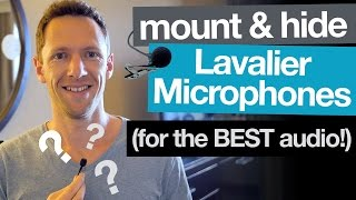 Improve ANY Lavalier Microphone: Mount (and Hide) for the BEST Audio!