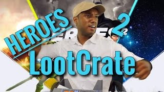 "Loot Crate July 2015 Unboxing: ""Heroes"""