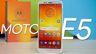 Moto E5 hands-on