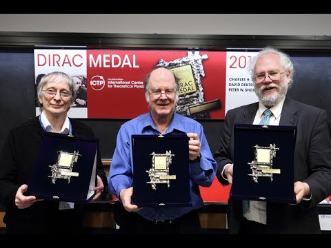 2017 Dirac Medal Award Ceremony
