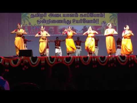 FeTNA 2014   Sange Muzhangu Dance by Metroplex Tamil Sangam, Dallas TX