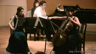 Wolf-Ferrari, Ermanno/Piano Trio in F sharp major,3.Lievemente Mosso, E Tranquillo Sempre,Op.7