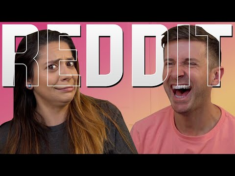 I DON'T KNOW HOW TO FEEL ABOUT THESE VIDEOS!! - Reddit Reactions w/ My Girlfriend