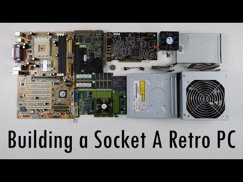 Building a Socket A System Retro Gaming PC