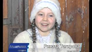В конноспортивной школе Альметьевска показали новогоднее представление