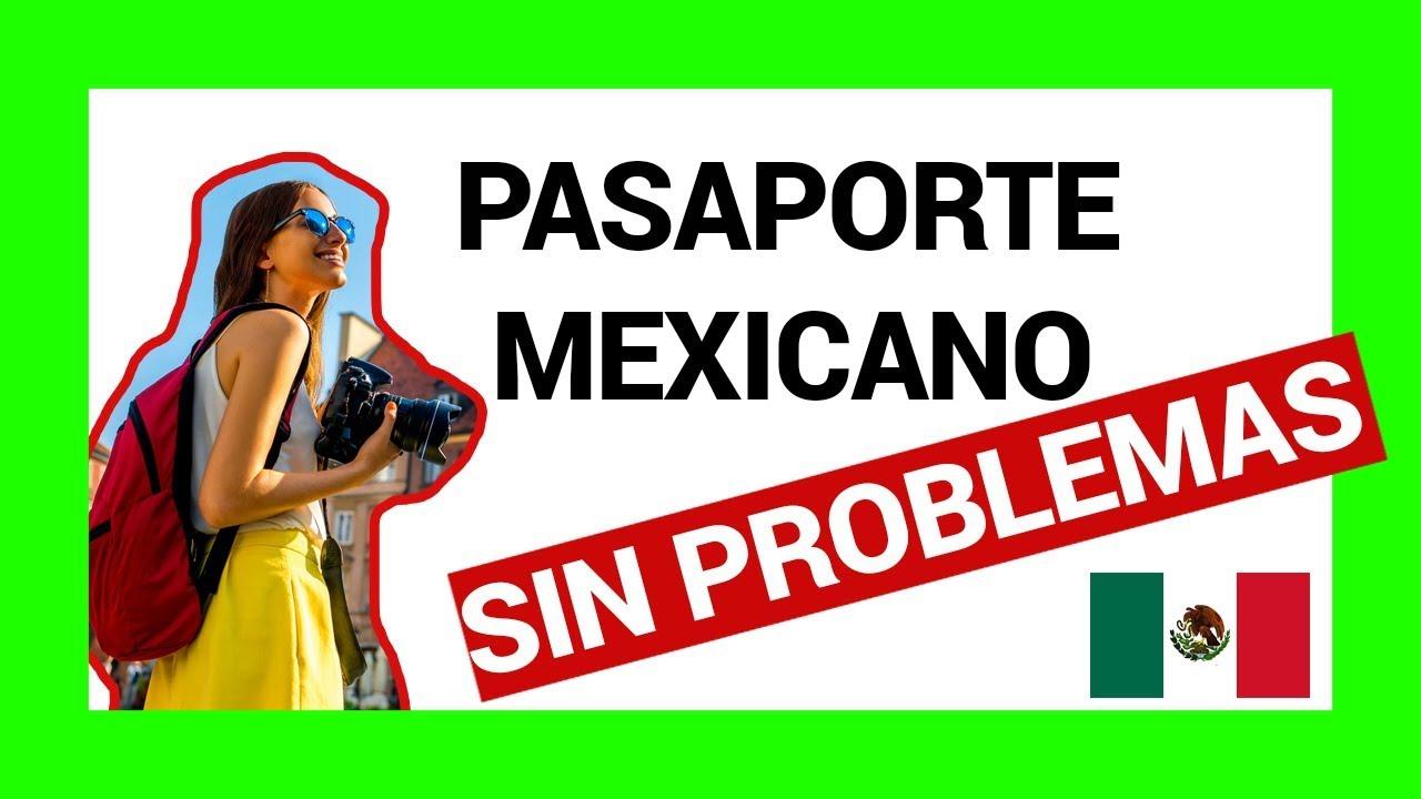 ⊛ Pasos y Requisitos para Pasaporte Mexicano 【2019】