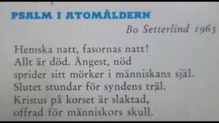 Psalm i Atomåldern - Kyrklig kabaré 1965 - Stilla (hemska) Natt - GOD JUL!