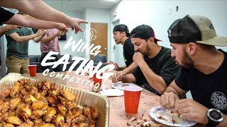 $1000 WING EATING COMPETITION