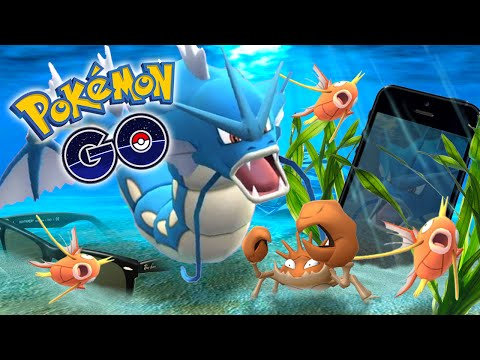 POKEMON GO - NEW IPHONE 7 LOST IN THE OCEAN