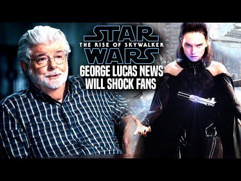 The Rise Of Skywalker George Lucas News Will Shock Fans! (Star Wars Episode 9)