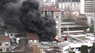 BSPP - CCGI Comment mettre ses hommes en danger - Incendie avec explosion à Montrouge 14.01.2011
