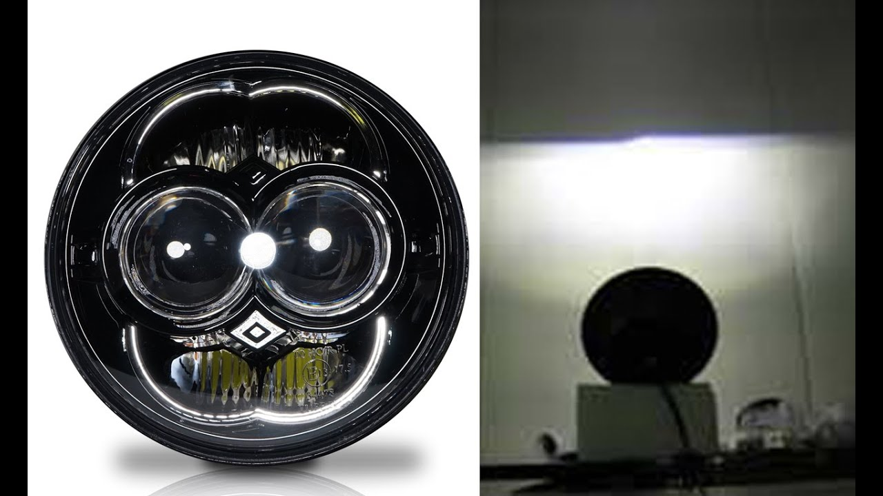 Sealed Beam 5 3 4 Led : Genssi™ inch led projector headlamp sealed beam