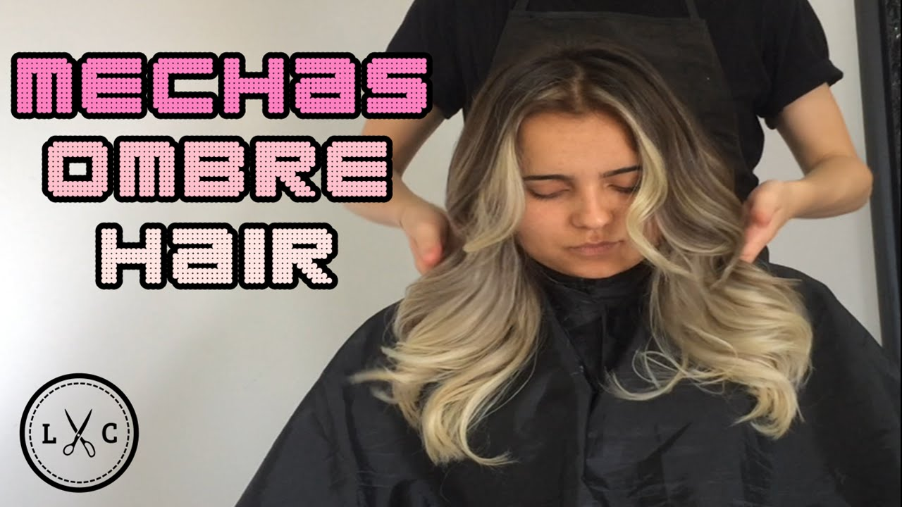 Tutorial Mechas Ombre Ombre Hair Youtube
