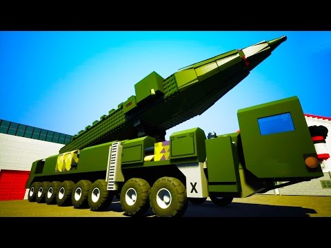The Largest Missile Launcher Ever Made in Brick Rigs!  - Brick Rigs Workshop Creations Gameplay