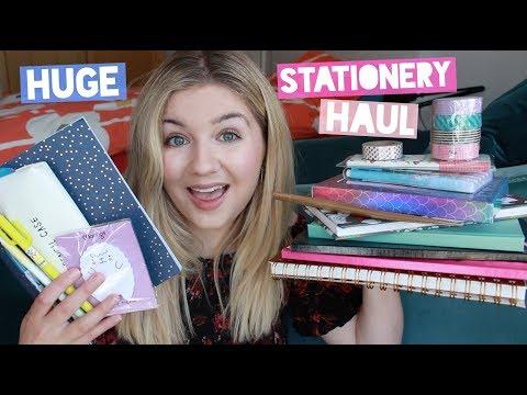 Huge Stationery Haul!