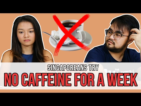 Singaporeans Try: No Caffeine For A Week