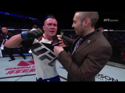 Fight Night Singapore: Colby Covington Octagon Interview