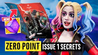 Batman Fortnite Zero Point Issue 1 | Easter Eggs and Details You Missed