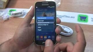 Samsung i9195 / i9192 / i9190 Galaxy S4 Mini  Review HD ( in ROmana ) - www.TelefonulTau.eu -