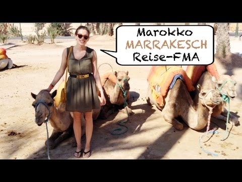 MAROKKO FMA | Marrakesch | Märkte, Essen, Kamele | Follow me around | Travel-Guide | HOTSPOTS
