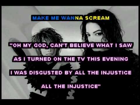 Scream (Michael & Janet Jackson) Karaoke