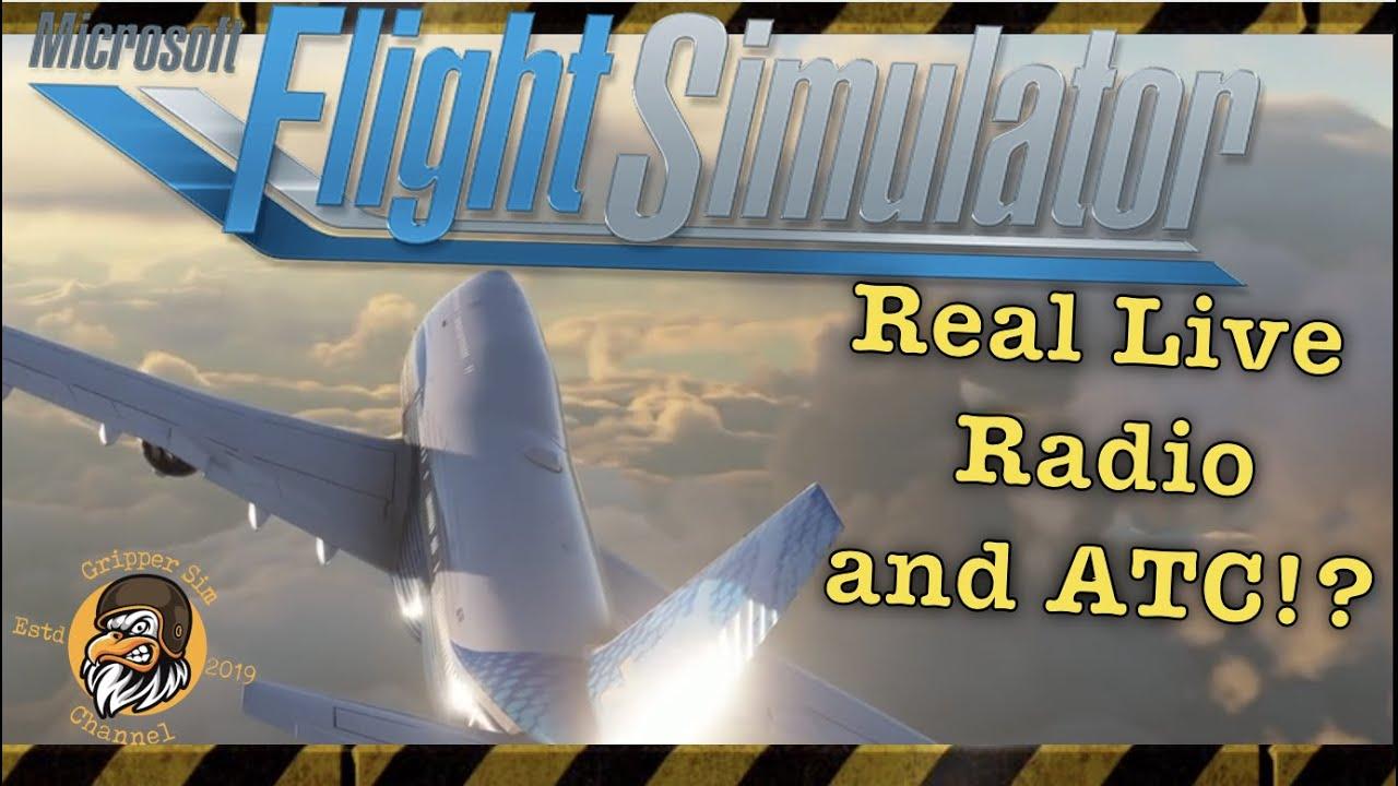 Flight Simulator 2020 | Real Live Radio ATC!? | Update ...