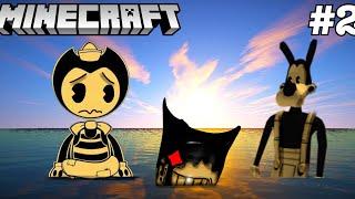 BENDY & BORIS GO SWIMMING IN THE OCEAN! (Bendy Minecraft Chronicles #2)