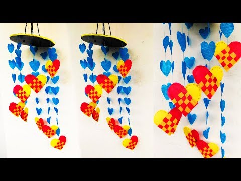 Shopping bag wall hanging,Shopping bag  wind chime, Shopping bag  jhumar, wall hanging,
