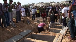 Gazans mourn victims of strikes that killed children thumbnail