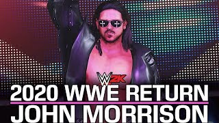 WWE 2K: John Morrison 2020 WWE Return! (WWE 2K Mods)