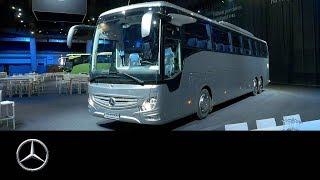 Präsentation des neuen Reisebus Tourismo RHD