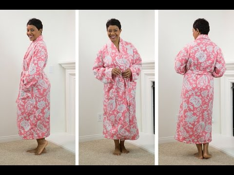 How To Sew Simplicity 40 Part 40 YouTube New Kimono Robe Sewing Pattern