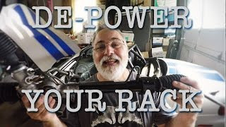 homepage tile video photo for Steering rack de-power on the Boosted Miata