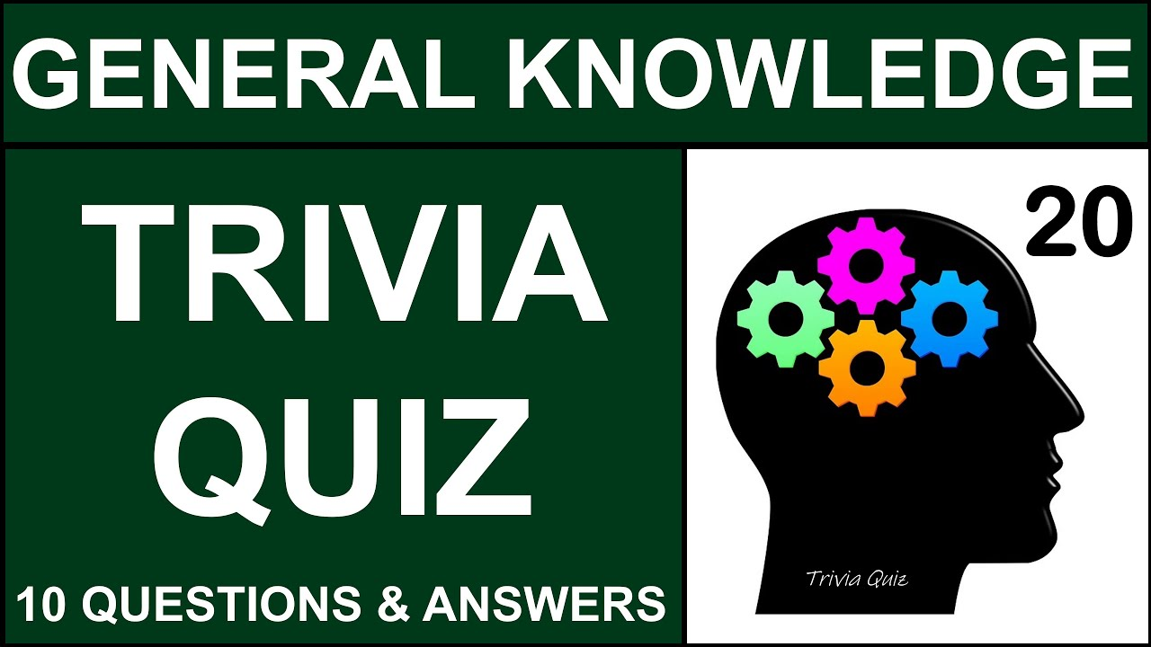 General Knowledge 10 Trivia Multiple Choice Quiz Questions ...