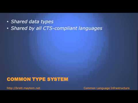 CS\M03\T02 - Common Language Infrastructure