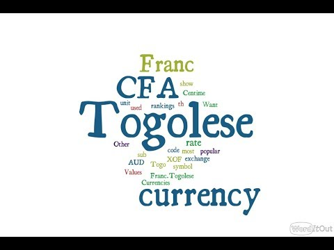 Togolese Currency - CFA Franc