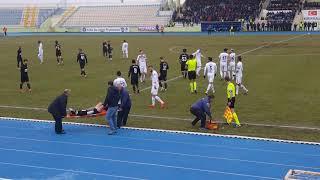 Kırıkkalespor - Yeniçağaspor maçında yetersiz müdahale