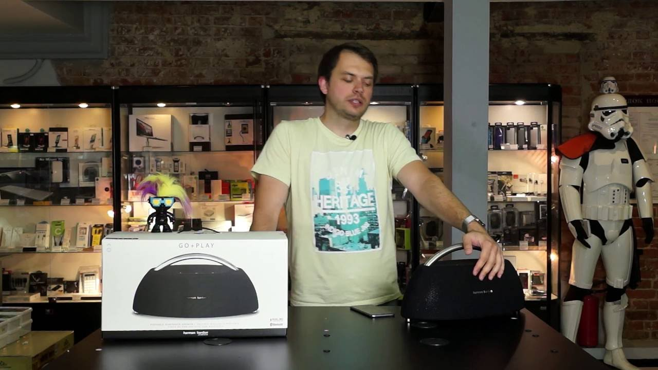 Обзор акустики Harman Kardon Go + Play Wireless Mini