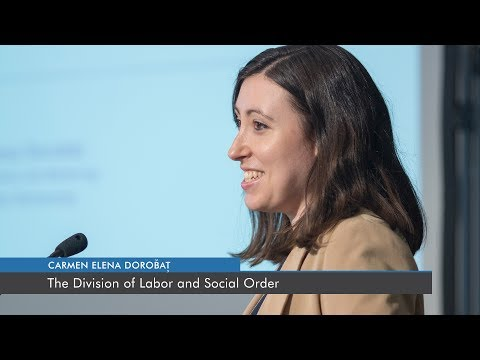 The Division of Labor and Social Order | Carmen Dorobăț