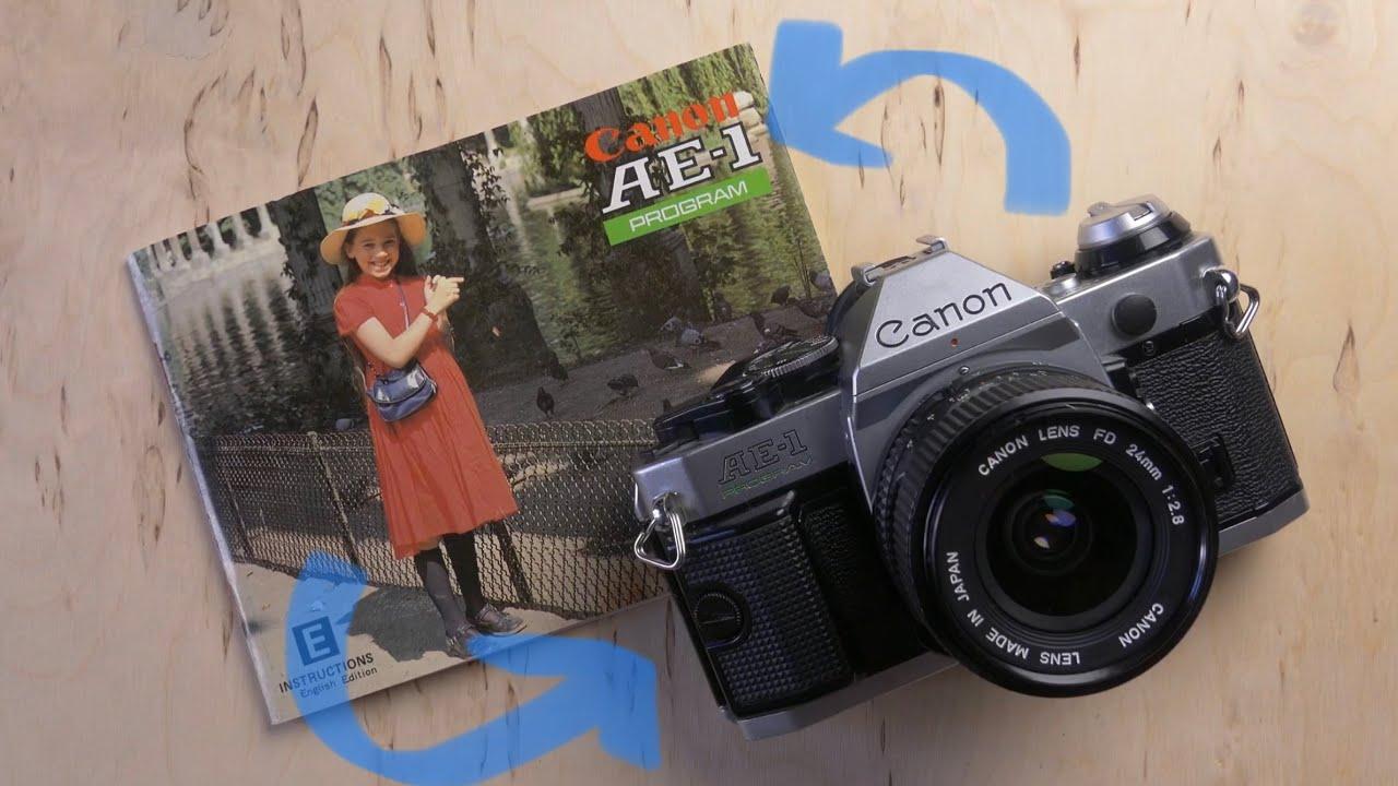 Canon AE-1 Program Bedienungsanleitung