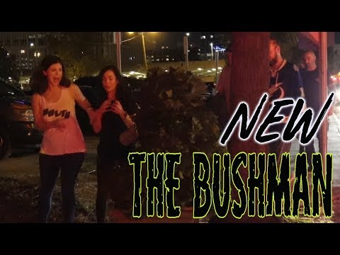 EPIC BUSHMAN PRANK AT NIGHT at Tampa Bay Lightning